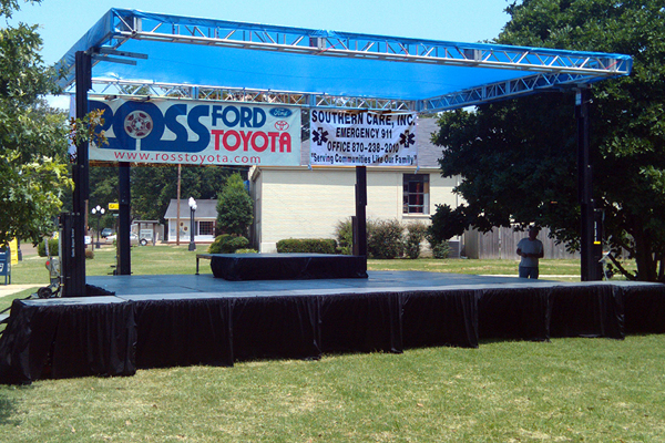 memphis event stage rental