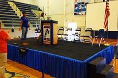 Ashland MS stage rental