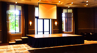 wedding stage rental