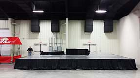 stage services delivery to Jonesboro