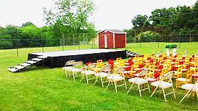 Jackson, TN stage rental