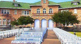 outdoor stage runway rental for wedding in Memphis
